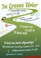 Flyer en poster De Spil