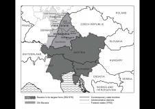 Kaart Bavaria