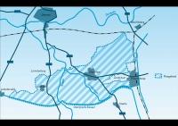 Kaart plangebied Den Ham-Lemele