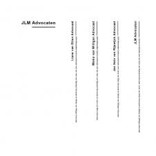 JLM Advocaten logo overzicht