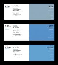 JLM Advocaten visitekaartjes