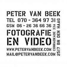 Logo en stempel Peter van Beek fotografie