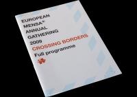 Mensa EMAG programmaboekje