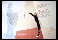 Waila Praktijk voor Euritmietherapie. Praktijkfolder, uitgevouwen.