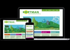 responsive website Kortman