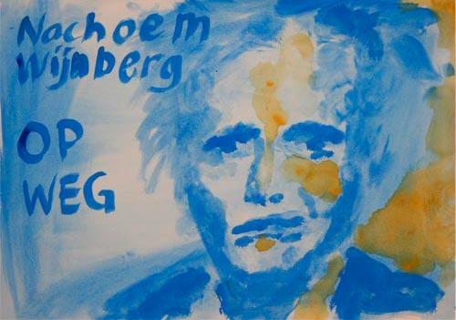 Nachoem Wijnberg tekening