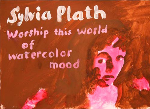 Sylvia Plath tekening