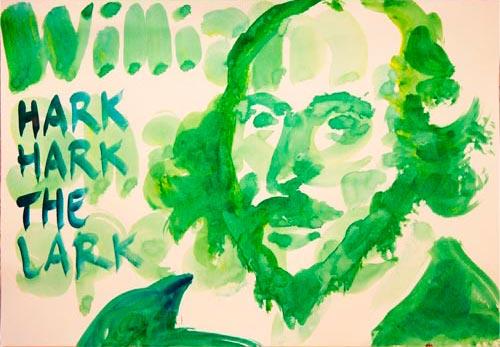 William Shakespeare tekening