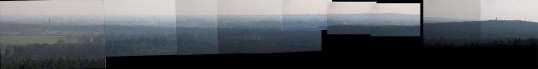 Panorama Bergherbos collage kijkrichting Zuid