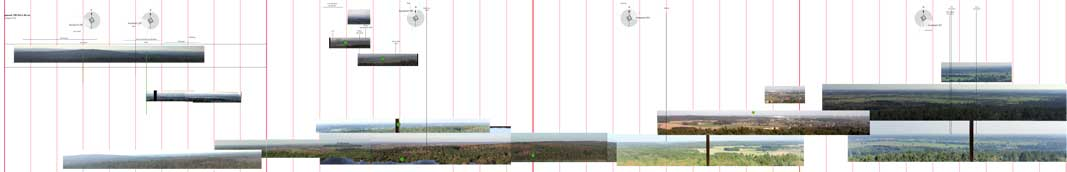 panorama Bergherbos foto's omliggend landschap