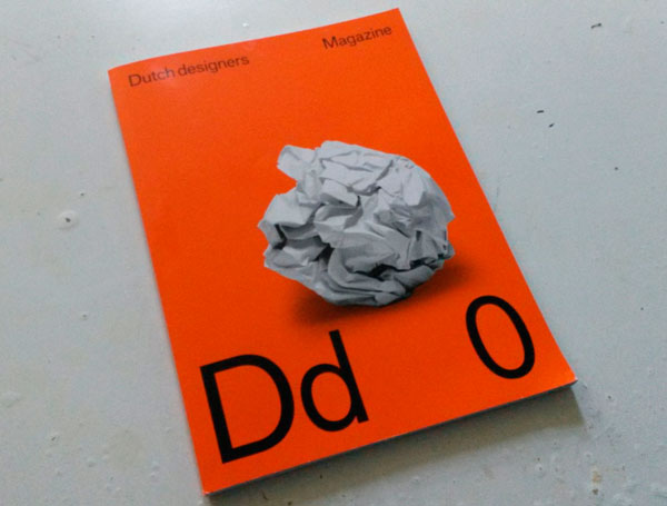 cover van Dd Dutch designers magazine